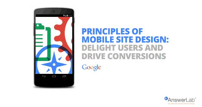 25 Consigli di progettazione per il mobile da Google