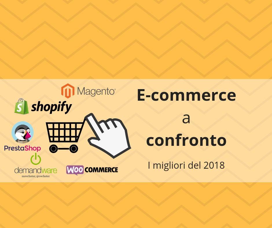 E-commerce a confronto: le migliori piattaforme