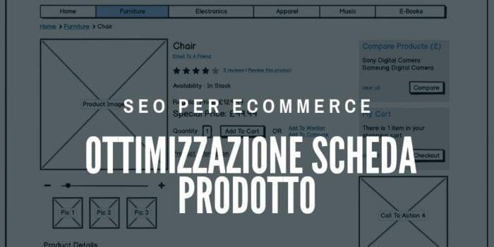 Ottimizzazione scheda prodotto ecommerce (infografica)