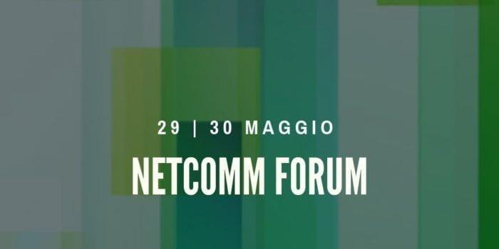 Siamo sponsor del Netcomm 2019