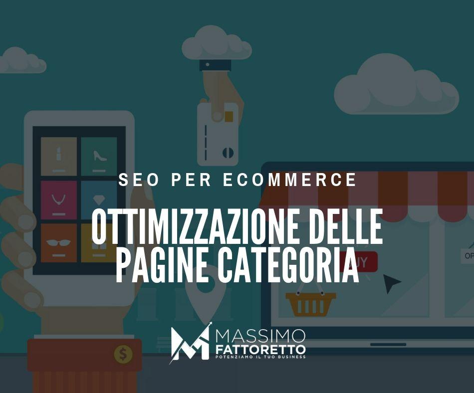 Ottimizzazione pagine di categoria di un e-commerce